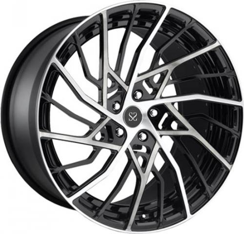 Euforte Tuning Alloy  8x20 5*112 ET27 d66,6Matt Black Machined